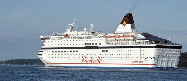 Viking Lines färja Cinderella.