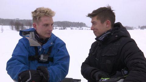 Axel Schylström och Alxeander Hermansson