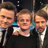 Alexander Engström, Fredrik Wikingsson och Filip Hammar