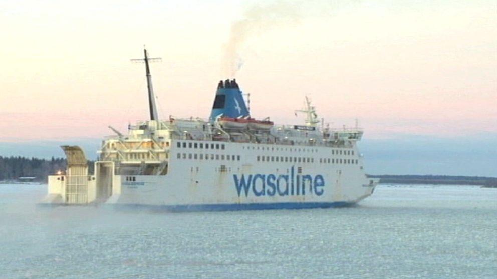 Wasaline, finlandsfärja, finlandsbåt