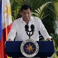 Filippinernas president Duterte.