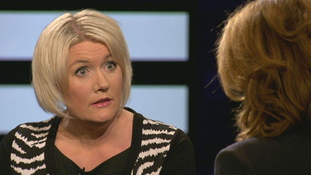"""Partisekreterare Lena Rådström Baastad: """"Naturligtvis vill vi få stopp på tiggeriet"""""""