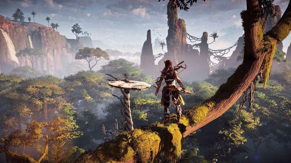 Horizons öppna värld hämtar sin inspiration från spel som Far Cry, Assassin's Creed och Red Dead Redemption.