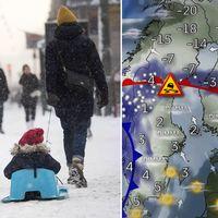 På vissa håll snö, på andra håll slask är beskedet från SVT:s meteorologer som nu blickar fram emot ännu en sportlovsvecka.