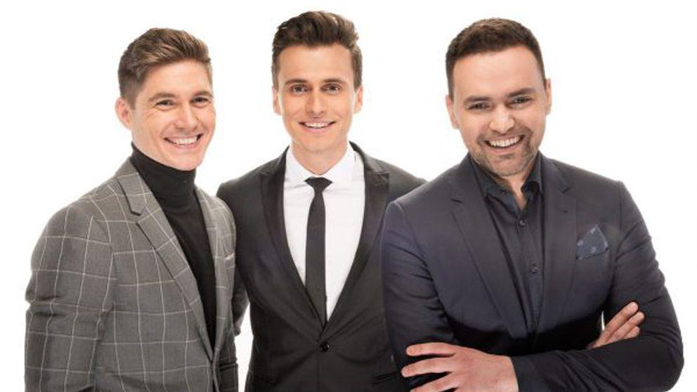 Trion som ska leda eurovision