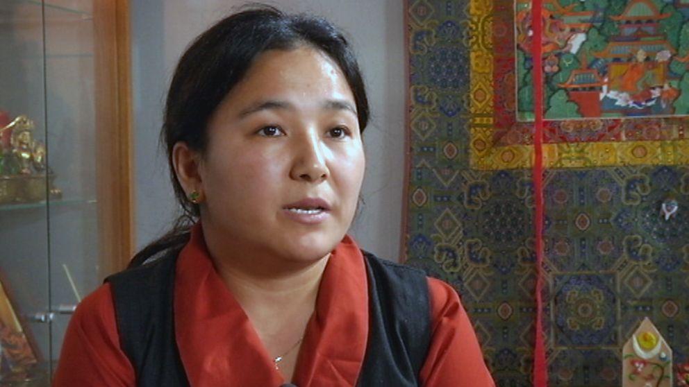 NyimaSherlhokangsar, ordförande Tibetan Community in Sweden.