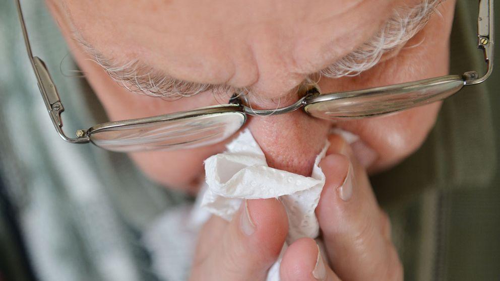 Influensa äldre man