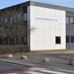 Mobilstopp på Boråsskolan.