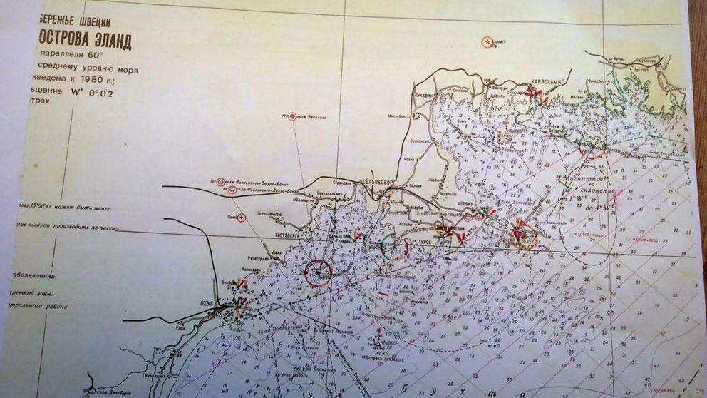 sjökort Blekinge