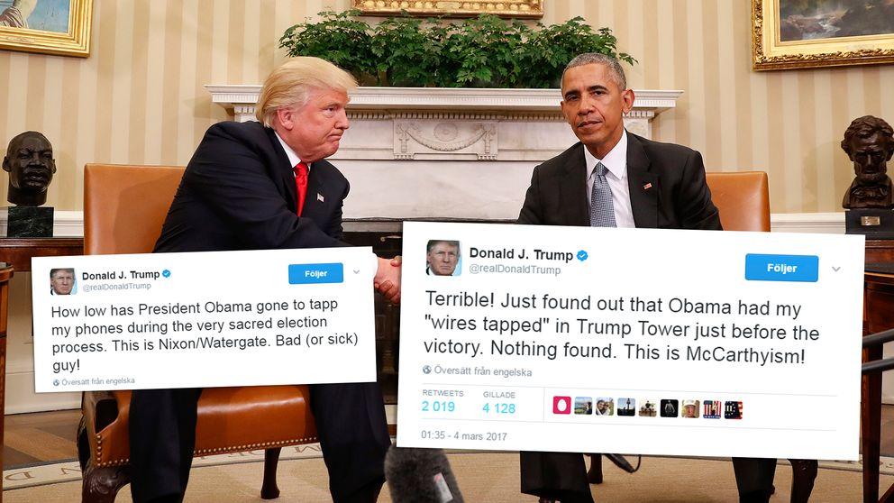 Obama, Trump, Twitter