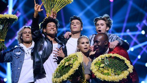 FO&O, Lisa Ajax, Boris René och Anton Hagman är i final i Melodifestivalen 2017.