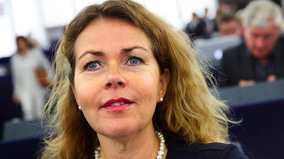 Cecilia Wikström (L) EU–parlamentariker.