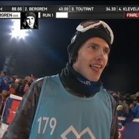 Sven Thorgren under X-games i Hafjell.