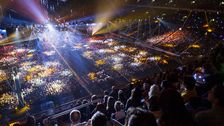 Friends arena Melodifestivalens final 2017