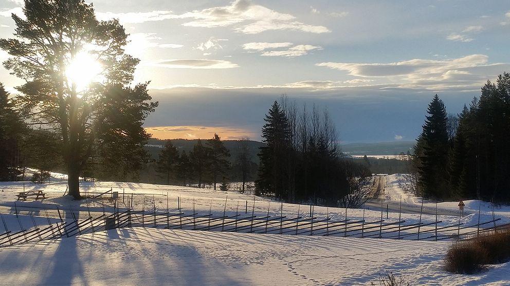 Jämtland levererar åter en vacker dag Några minusgrader men ingen vind, Helleberg 13 mars