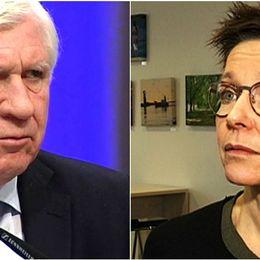 Johnny Magnusson, (M), och Ann-Sofie Hermansson, (S).