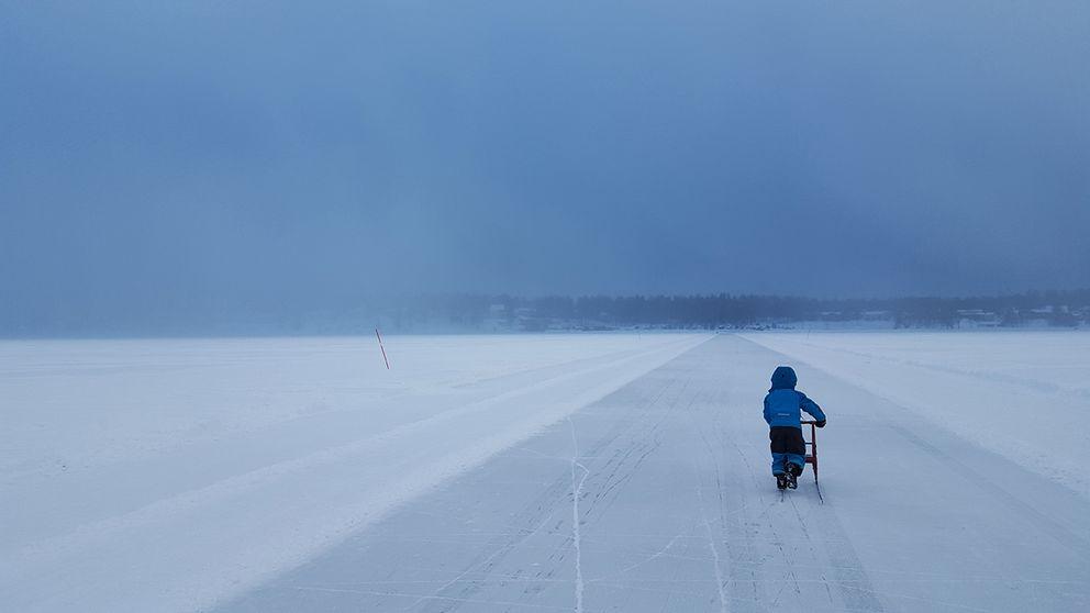 Plötsligt väderomslag i Luleå