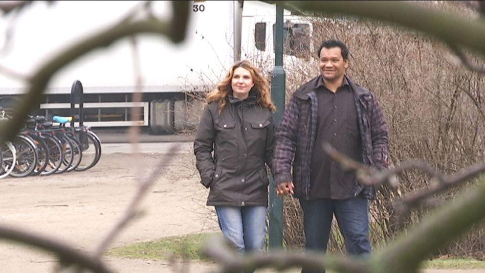 Sambon Jenny hjälpte Mats Tjäder att bryta med sitt liv som livstidskriminell