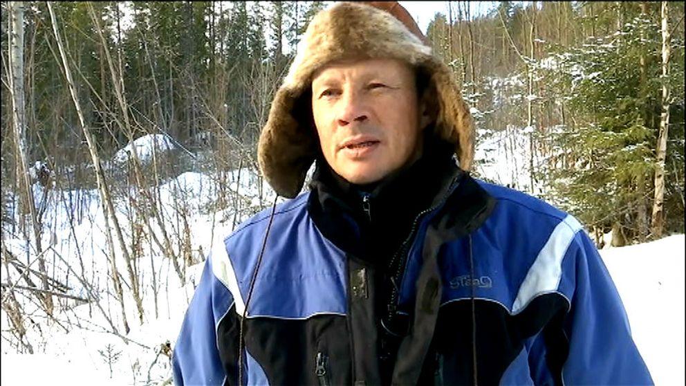 Renskötaren Nils Anders Jonsson från Tåssåsens sameby är less på att ha vargar inne i renhjorden