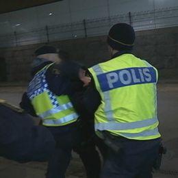 polis, sd-möte, jimmie åkesson