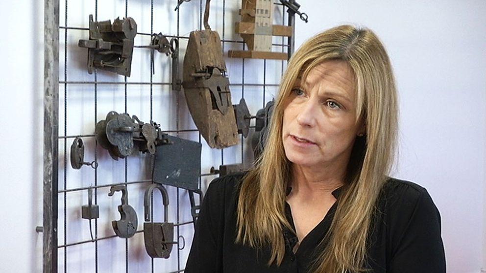 Pia Lindström, vice vd på Stöldskyddsföreningen