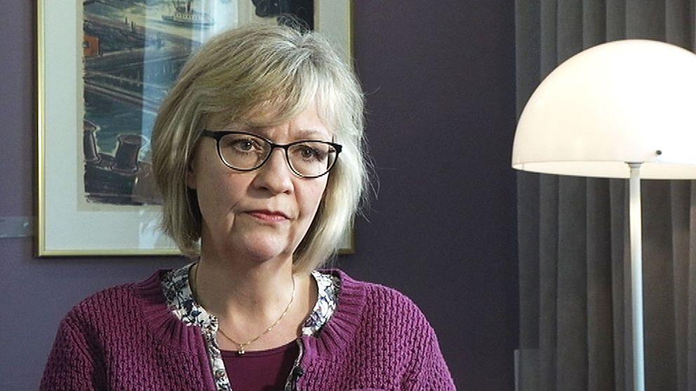 Erika Sallander, utredare på Brottsförebyggande rådet.