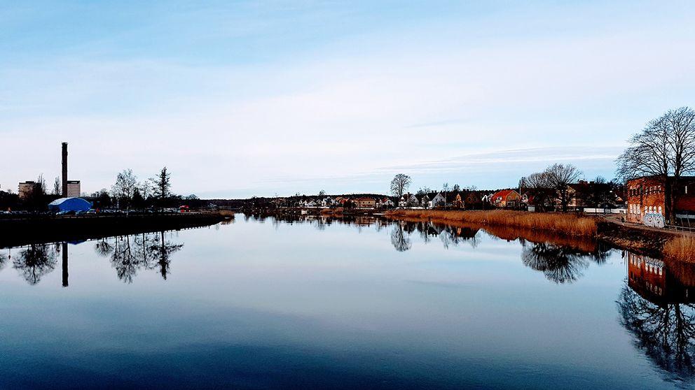 Klarälven, Karlstad 16 mars