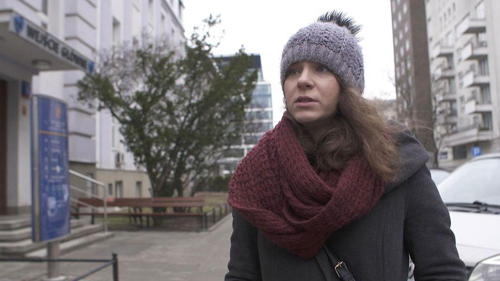 """Ewa Wieliczko jobbar på kvinnorättsorganisationen """"Federation for Women and Family Planning"""""""
