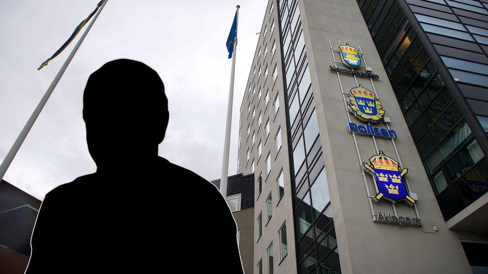 Den internationellt gripne mannen förhörs i polishuset i Uppsala