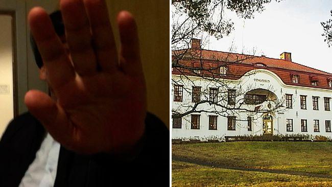 grov fusk mörk hud i Umeå