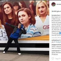"""Robyn hyllas av Lena Dunham efter senaste """"Girls""""-avsnittet."""