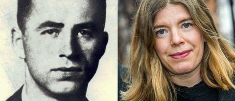 Nazisten Alois Brunner och Susanna Wallstén som skrivit boken Mannen i Damaskus tillsammans med Eric Ericson