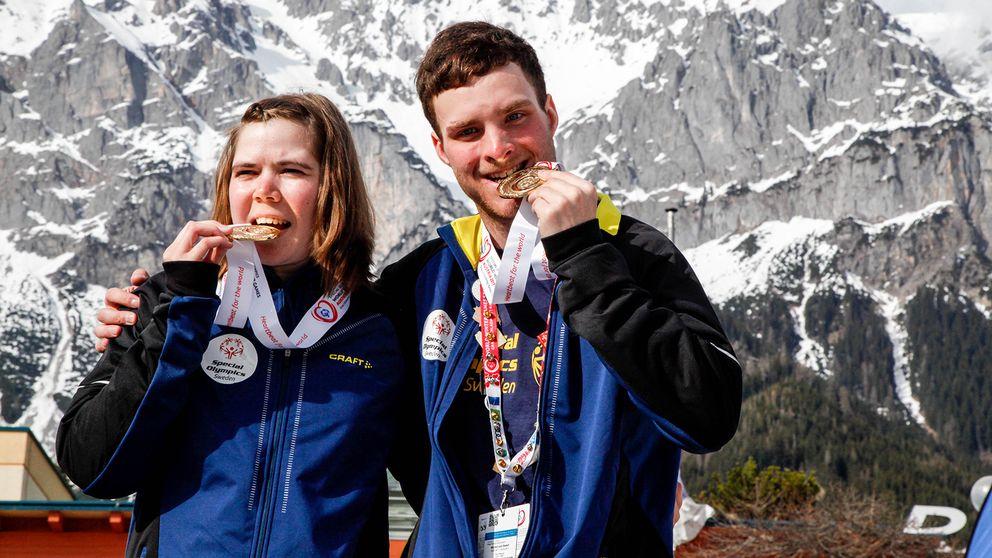 Lovisa Danielsson, Frösön och Felix Nilsson, Offerdal biter i guldmedaljerna