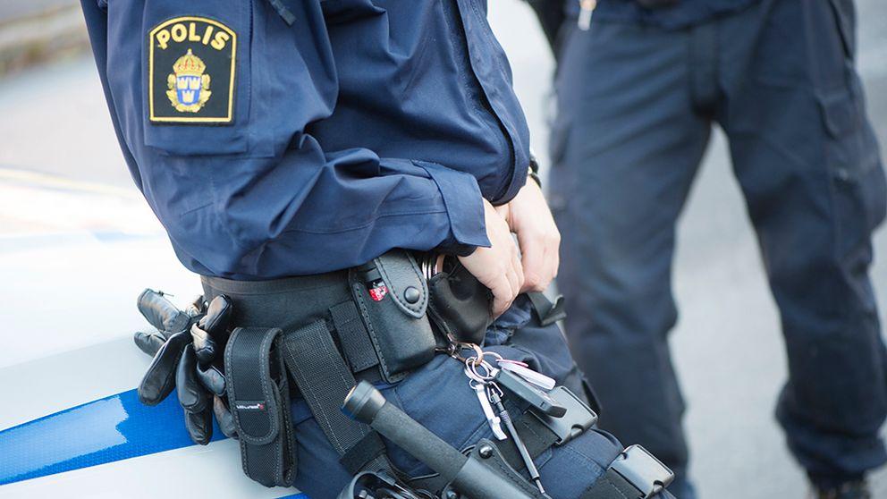 Boråspolis utvalda för att testa nytt elchockvapen.