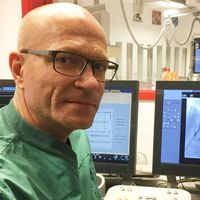 Ole Fröbert, överläkare och professor på hjärt-lungkliniken USÖ