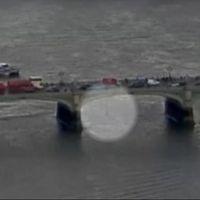 Se den misstänkta terroristens vansinnesfärd på Westminister bridge.