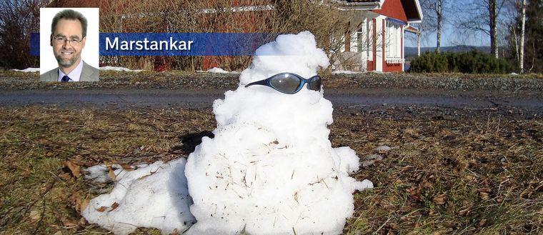 Tögubbe i värmländska Sunne den 10 mars.
