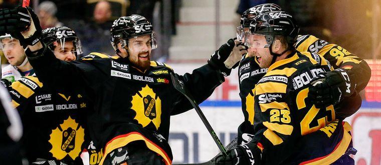 Skellefteå leder matchserien mot Frölunda med 3-1 i matcher efter seger 3-0 på torsdagskvällen.