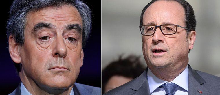 Fillon och Hollande