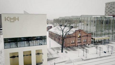 Nya Musikhögskolan i Stockholm.