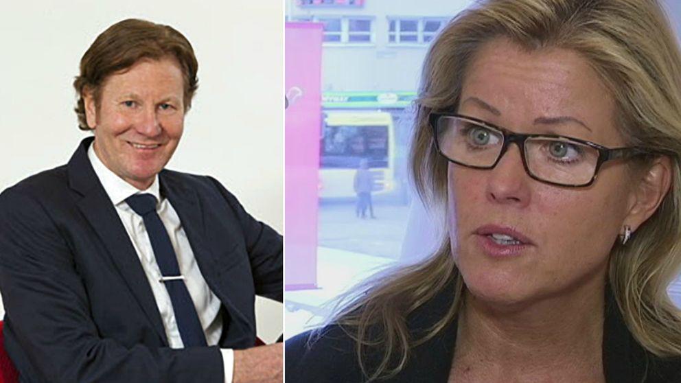Björn ryd och Åsa Wiklund.