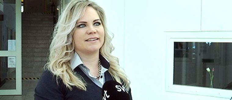 Jessika Israelsson, nyvald ordförande i kvinnojouren Norrbotten.
