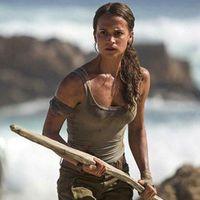Alicia Vikander i rollen som Lara Croft.