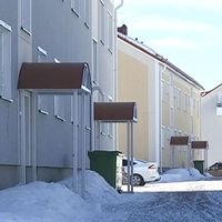 Bild på hus i Malmberget