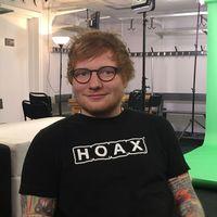 Kulturnyheterna träffade Ed Sheeran strax innan spelningen i Globen.