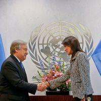 Många i FN:s ledning undrar hur mycket USA kommer att skära ner på sina FN-bidrag som utgör 22 procent av organisationens budget.