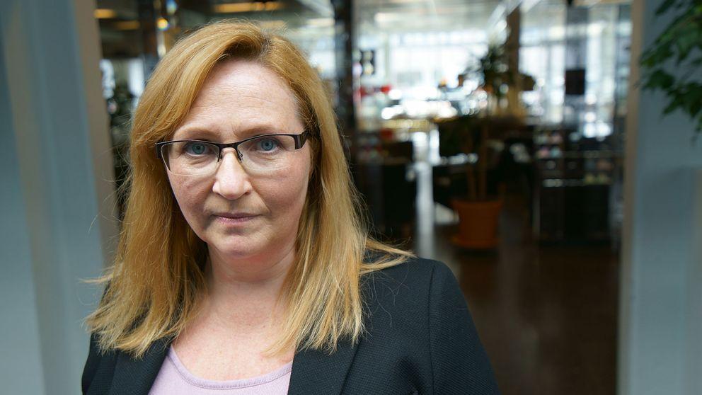 Marie Olsson, vice ordförande på Narkolepsiföreningen.