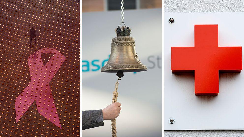 I dag har svenska Röda korset cirka 600 miljoner kronor i bland annat aktier och fonder. Cancerfonden har runt en miljard kronor investerade i aktier, aktiefonder och andra typer av värdepapper.