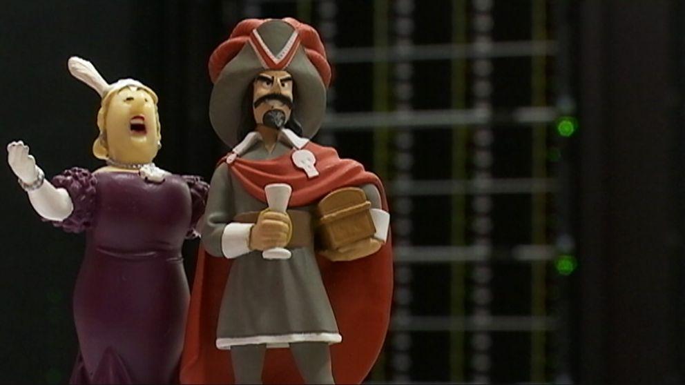 """De nya superdatorerna är döpta efter Tintinkaraktärerna """"Bianca Castafiore"""" och """"Rackham den röde""""."""