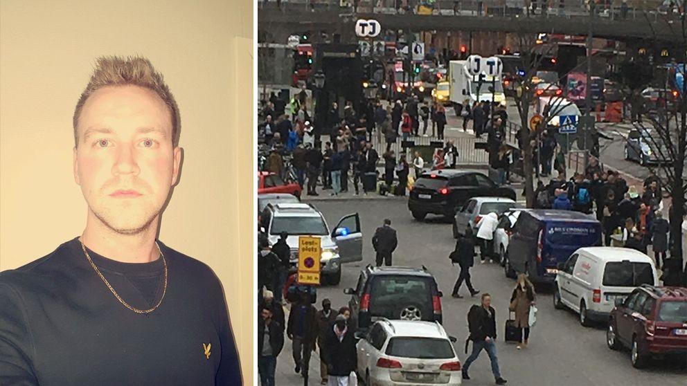 Öst terrordåd Stockholm